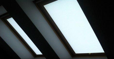 Мансардные жалюзи и шторы